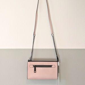 MARC JACOBS Small Pink Gotham Crossbody Bag
